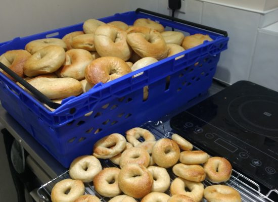 Bagels For The Office Run
